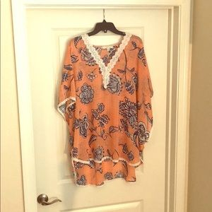 Floral Swim Cover-Up